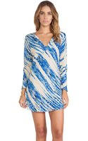 Tysa Montauk Tunic Dress - Lyst