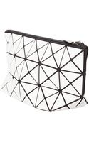 Bao Bao Issey Miyake Lucent1 Prism Pouch Metallic White - Lyst
