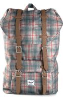 Herschel Supply Co. Plaid Backpack - Lyst