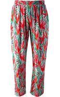 Kenzo Trousers - Lyst