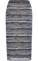 No 21 Organza and Cotton Bonaria Knit Skirt - Lyst
