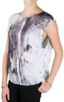 Helmut Lang Low Graphic Top - Lyst