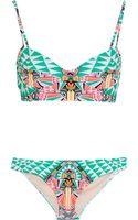 Mara Hoffman Printed Underwired Bikini - Lyst