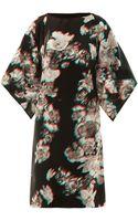 Maison Martin Margiela 3dprint Silk Dress - Lyst