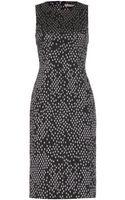 Bottega Veneta Jacquard Dress - Lyst