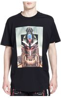 Givenchy Girl Robot Graphic Tee Black - Lyst