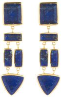 Margaret Elizabeth The Mira Earrings Lapis - Lyst