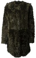 Drome Fur Coat - Lyst