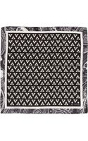 Etro Geometricpatterned Pocket Square - Lyst