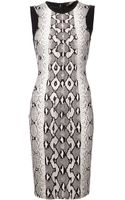 Roberto Cavalli Fitted Dress - Lyst
