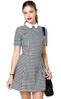 Nasty Gal Motel Joni Dress - Lyst