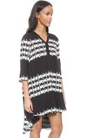Thakoon Addition V Neck Dress - Black - Lyst