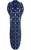 By Malene Birger Double Embellished Dress - Lyst