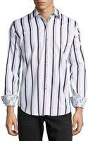 Robert Graham Kaleb Classic Striped Sport Shirt - Lyst
