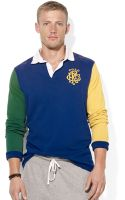 Polo Ralph Lauren Polo Colorblocked Rugby Shirt - Lyst