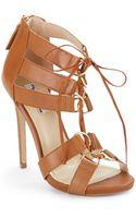 The Blonde Salad x Steve Madden Monaco Highheel Sandals - Lyst