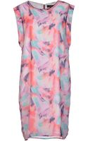 Selected /femme Short Dress - Lyst