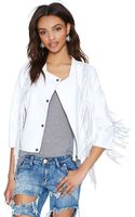 Nasty Gal Cleobella Everly Leather Jacket - Lyst