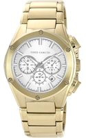 Vince Camuto Mens Goldtone Bracelet Watch with Silvertone Accents - Lyst