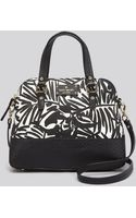 Kate Spade Satchel Grove Court Linen Maise Printed - Lyst