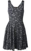 Marc By Marc Jacobs Cas Printed Dress - Lyst