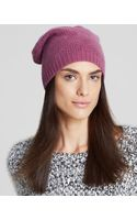 C By Bloomingdale's Luxe Cashmere Jack Slouch Hat - Lyst