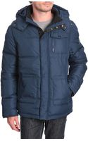 Wrangler The Protector Navy Down Jacket - Lyst