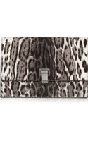 Proenza Schouler Lunch Bag Small Calf Hair and Leather Clutch - Lyst