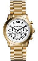 Michael Kors Womens Chronograph Cooper Goldtone Stainless Steel Bracelet Watch 39mm - Lyst