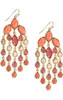 Kendra Scott Marquis Pear Chandelier Earrings - Lyst