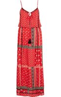 River Island Paisley Border Print Cami Maxi Dress - Lyst