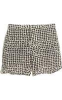 Madewell Silk Shorts in Scatterblock - Lyst