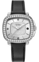 Breil Milano Womens Black Leather Strap Watch 35mm - Lyst