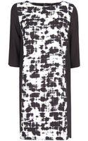 Mango Watercolour Print Dress - Lyst