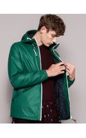 Pull&Bear Raincoat with Hood - Lyst