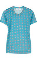 Prabal Gurung Floralprint Jersey Tshirt - Lyst