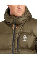 Polo Ralph Lauren Channel-quilted Down Jacket - Lyst
