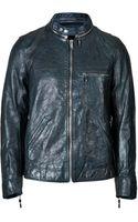 Golden Goose Deluxe Brand Leather Biker Jacket - Lyst