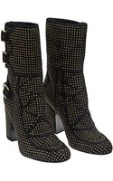 Laurence Dacade Merli Studded Boot with Buckles - Lyst