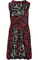 Vivienne Westwood Anglomania Monday Printed Cotton Dress - Lyst