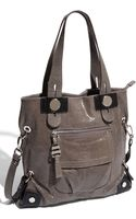 B. Makowsky Lindsey Suede Tote - Lyst