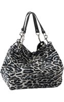 Hinge ® Leopard Print Calf Hair Hobo - Lyst