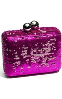 Steven By Steve Madden Sequined Box Clutch - Lyst