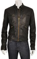Edun Leather Motorcycle Jacket - Lyst