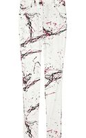 Diane Von Furstenberg Jailie High-rise Paint-effect Skinny Jeans - Lyst
