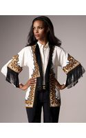 Etro Embroidered Jacket - Lyst