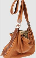 Topshop Large Leather Bag - Lyst
