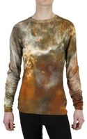 Christopher Kane Silk Blend Knit Sweater - Lyst