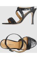 Santoni High-heeled Sandals - Lyst