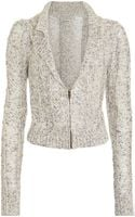 Rodarte x Opening Ceremony Drop Stitch Cable Cardigan - Lyst